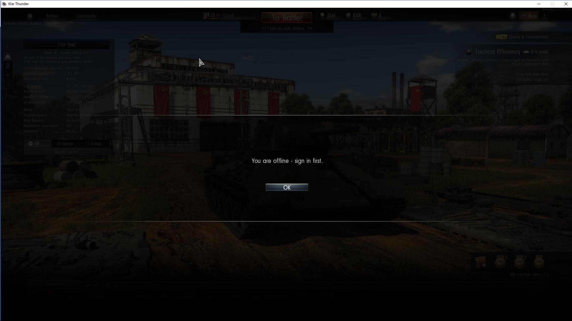 War Thunder Offline