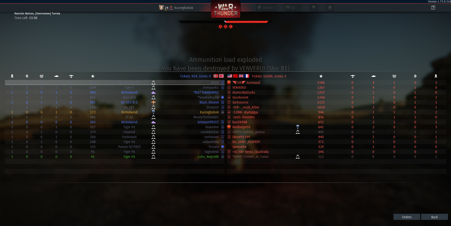 Br war range thunder Battle Rating